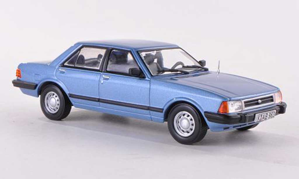 Ford Granada 1/43 WhiteBox MKII bleue 1983 miniature