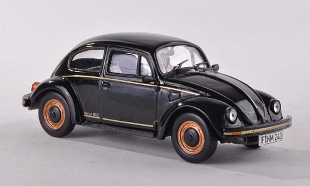 Volkswagen Coccinelle 1/43 WhiteBox Special Bug black  1983 diecast