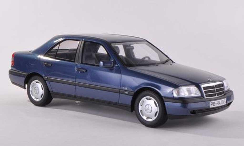 Mercedes Classe C 1/43 BoS Models C220 (W202) bleu limitee edition 1.000  1995 miniature