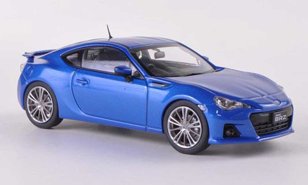 Subaru BRZ 1/43 Ebbro blau RHD Tokyo Motor Show  2011 modellautos