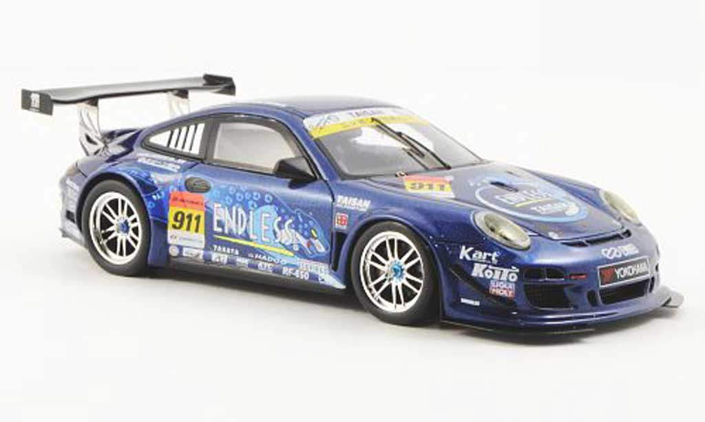 Porsche 997 GT3 1/43 Ebbro Super 00 No.911 Endless Taisan 2012 K.Mineo/N.Yokomizo miniature