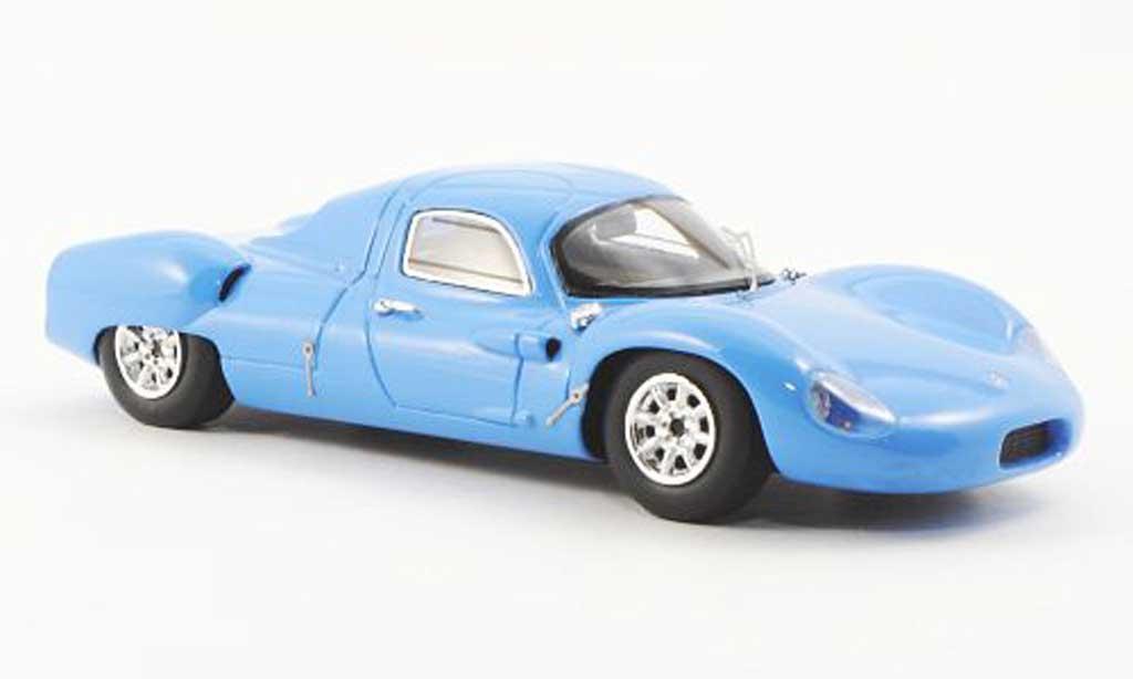 Costin Nathan 1/43 Ebbro bleu London Racing Car Show 1969