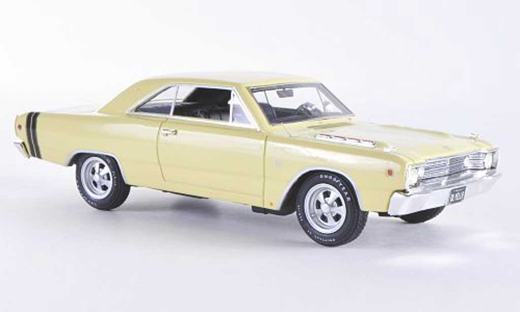Dodge Dart 1968 1/43 Highway 61 GTS beige/black diecast