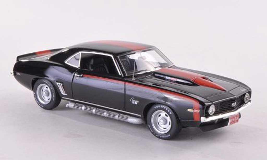Chevrolet Camaro SS 1/43 Highway 61 427 noire/rouge 1969 miniature