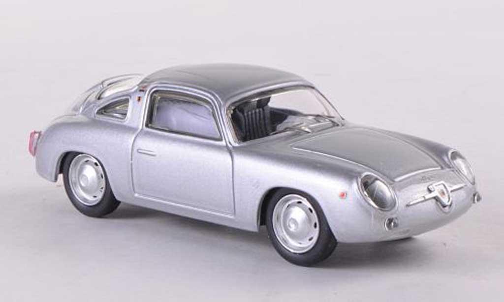 Fiat 750 1/43 Best Abarth Zagato grisegrise 1958 miniature