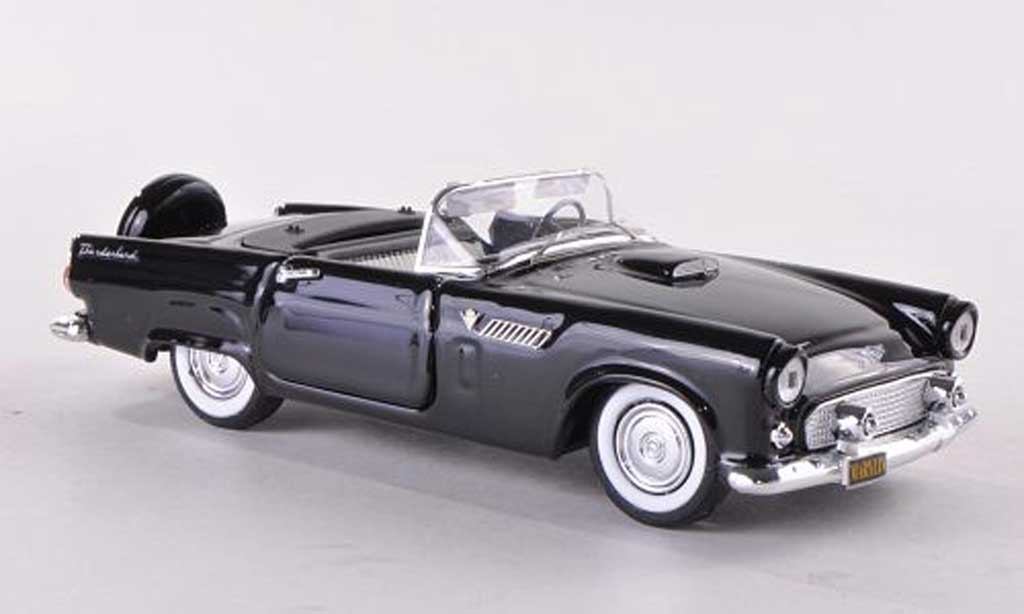 Ford Thunderbird 1956 1/43 Rio Convertible black diecast model cars