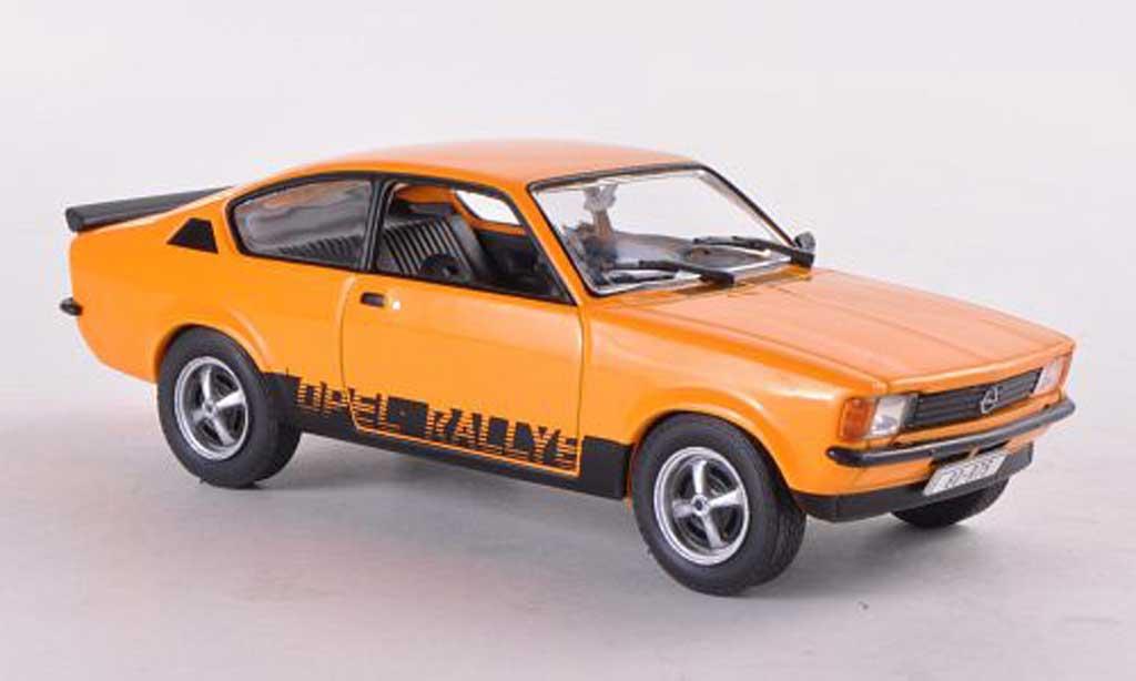 Opel Kadett 1/43 WhiteBox C Rallye orange miniature