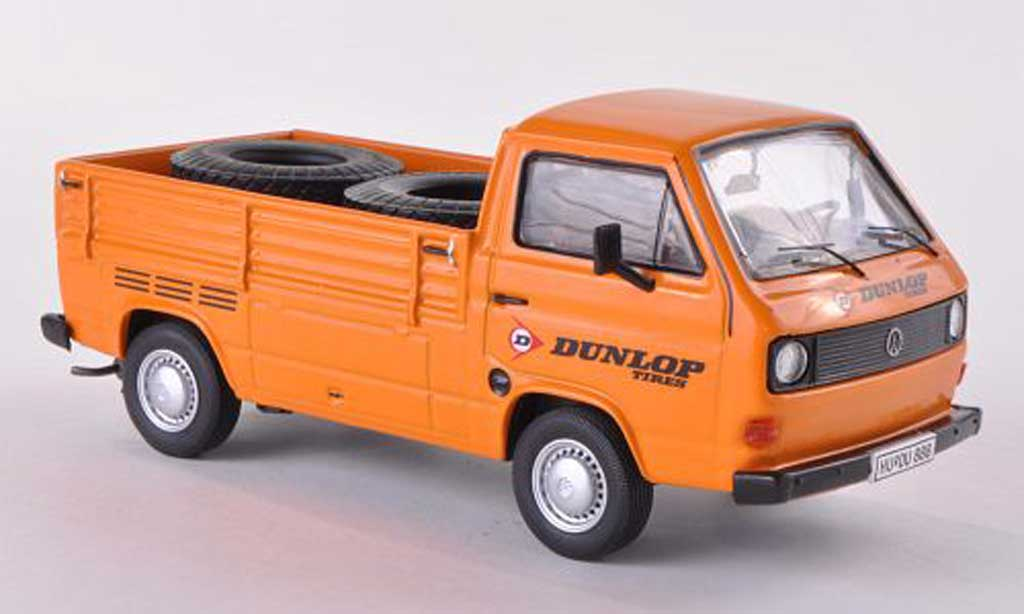 Volkswagen T3 A 1/43 Premium ClassiXXs a Pritsche Dunlop miniature