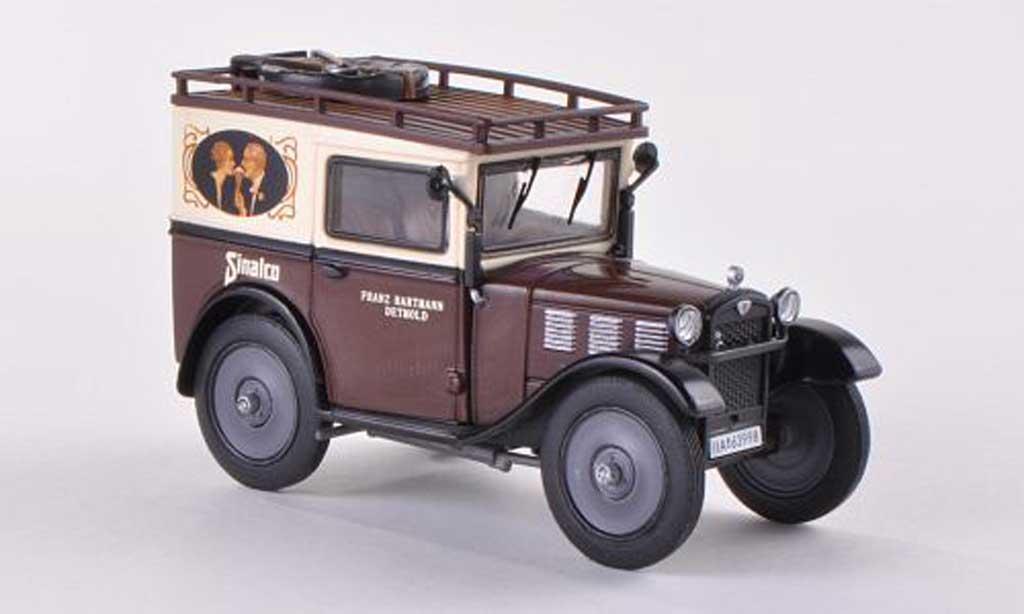 Bmw Dixi 1/43 Premium ClassiXXs Sinalco beige/marron miniature