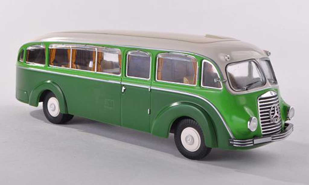 Mercedes L3500 1/43 Premium ClassiXXs bus vert/beige miniature