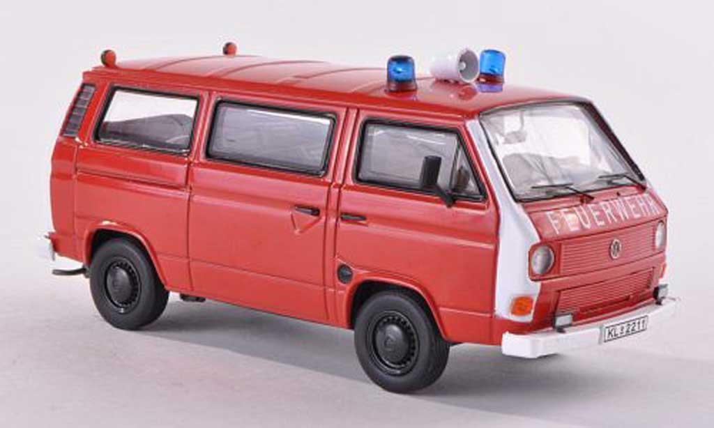 Volkswagen T3 1/43 Premium ClassiXXs bus pompiers  diecast