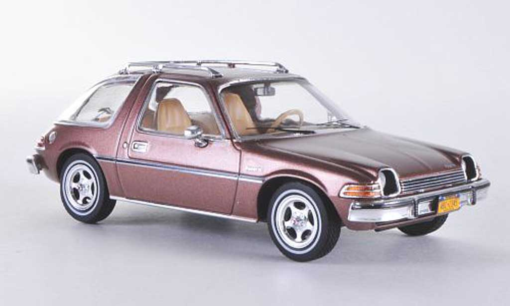 AMC Pacer 1/43 Premium X X marron Sondermodell limitierte Auflage 750 Stuck 1975 miniature