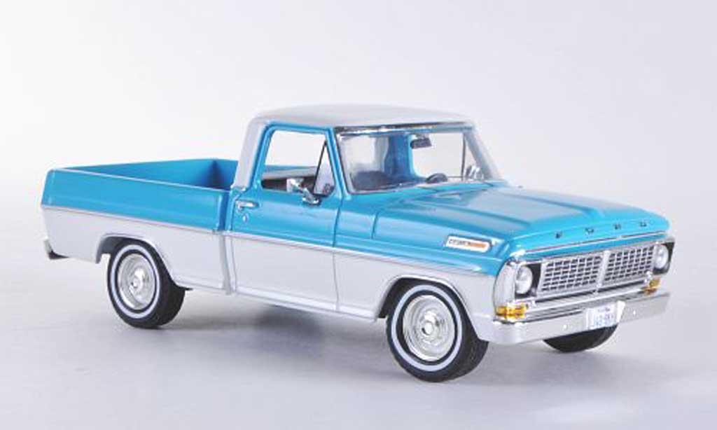 Ford F 100 1/43 Premium X F-100 Ranger bleu/blanche Sondermodell limitierte Auflage 500 Stuck 1978 miniature