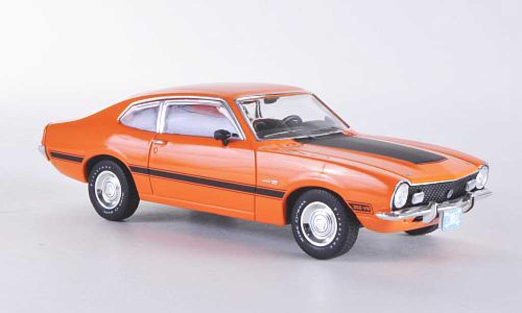 Ford Maverick 1/43 Premium X GT orange/mattnoire Sondermodell limitierte Auflage 500 Stuck 1974 miniature