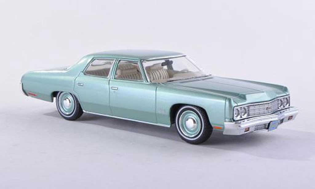Chevrolet Bel Air 1973 1/43 Premium X clair-vert modele special limitee edition 500 piece miniature