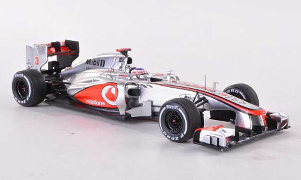 McLaren F1 2012 1/43 Spark 2012 MP4-27 No.3 Vodafone GP Brasilien J.Button miniature