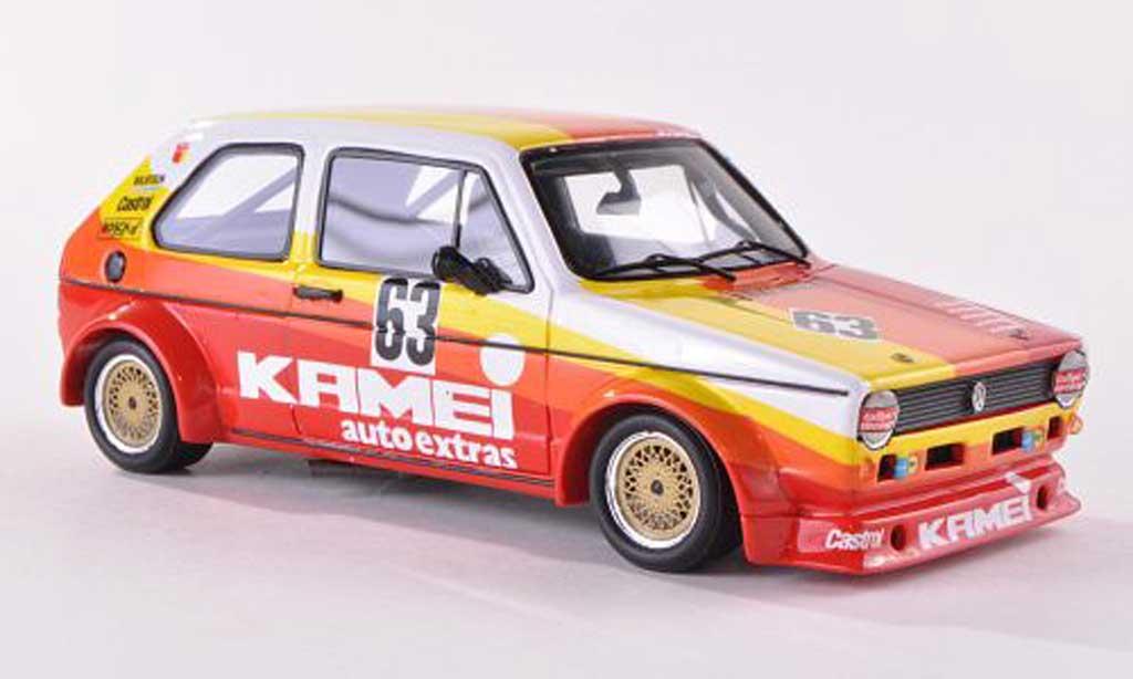 Volkswagen Golf I 1/43 Spark MK1 Gr.2 No.63 Kamei 1000km Nurburgring 1977 B.Renneisen/W.Wolf miniature