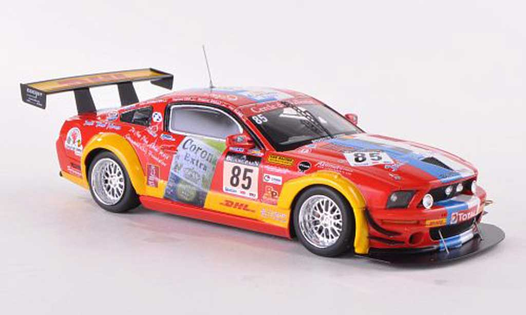Ford Mustang FR500 1/43 Spark No.85 VDS Racing 24h Spa 2011 B.Bailly/J.Schroyen/J.Close/R.van der Straten diecast