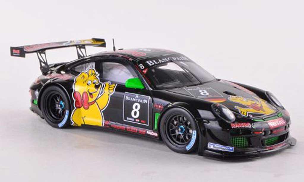 Porsche 997 GT3 1/43 Spark R 2012 No.8 Haribo Bale Motorsport 24h Spa U.Alzen/M.Stursberg/H.G.Riegel/C.Menzel diecast model cars