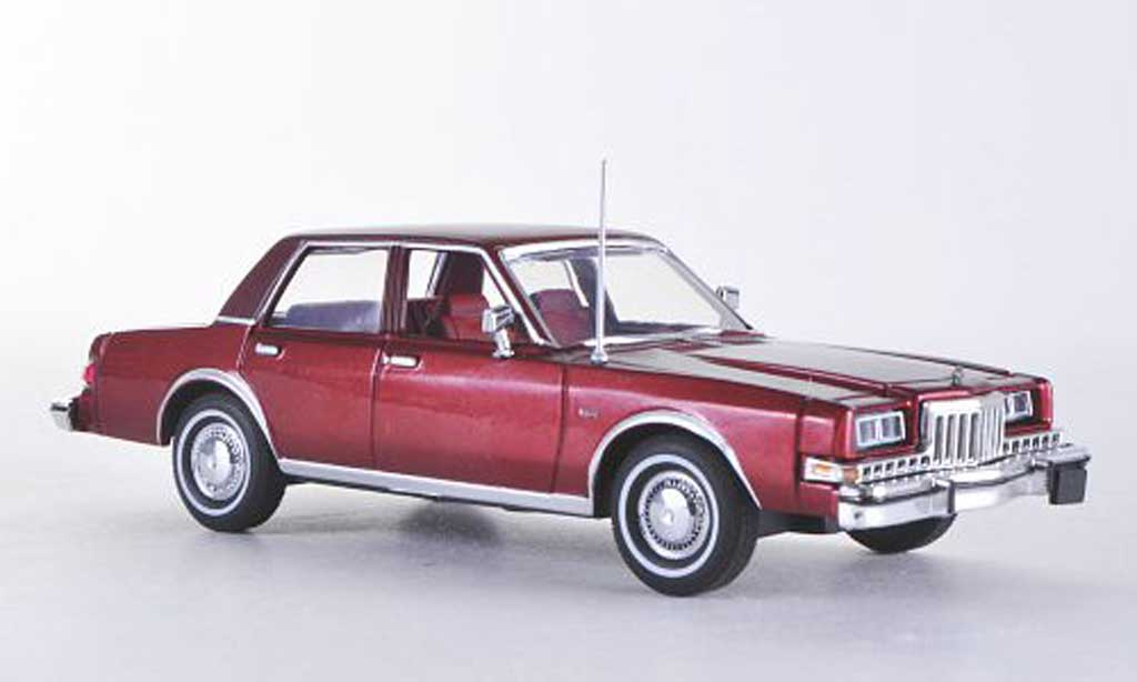 Dodge Diplomat 1/43 American Heritage Models red/red  1985 diecast