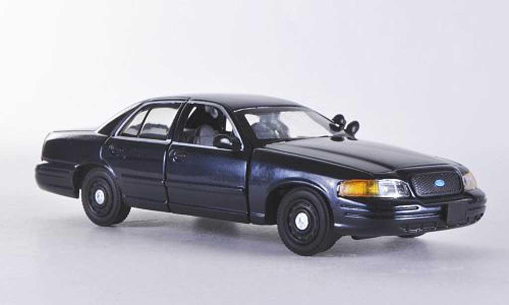Ford Crown 1/43 First Response Victoria bleu mit Polizei-Zubehor miniature