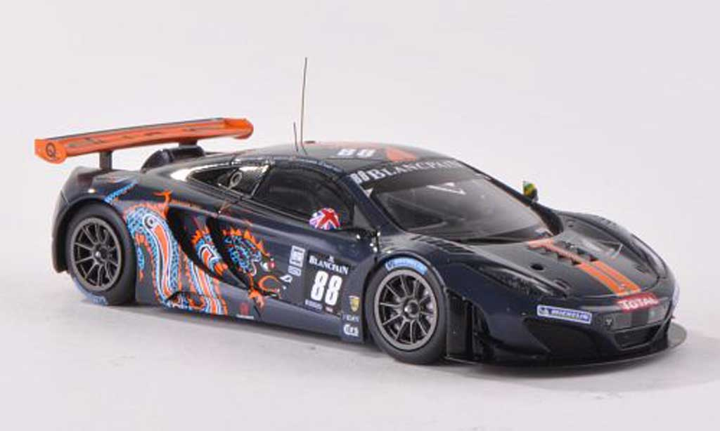McLaren MP4-12C 1/43 TrueScale Miniatures GT3 No.88 Von Ryan Racing 24h Spa 2012 R.Barff/C.Goodwin/A.Parente/R.Wills miniature