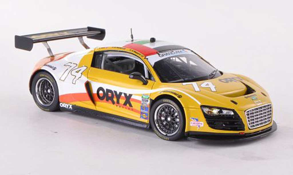 Audi R8 LMS 1/43 Spark Grand-Am No.74 Oryx Racing 24h Daytona 2012 H.Al Masaood/S.Al Mehairi/S.Kane miniature