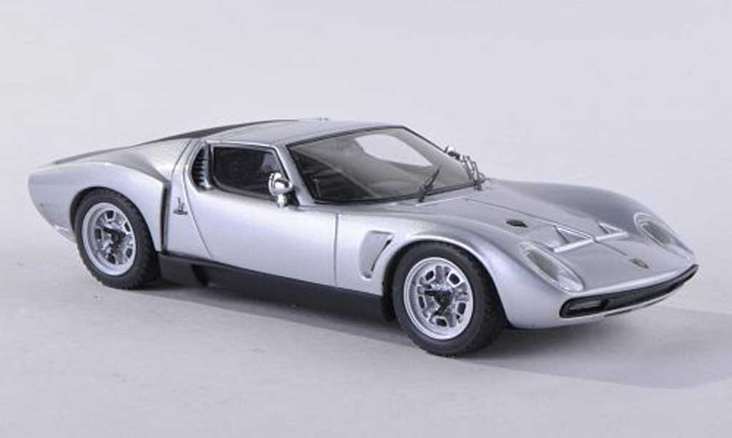 Lamborghini Miura P400 1/43 Look Smart S Jota Hard Top d  miniatura