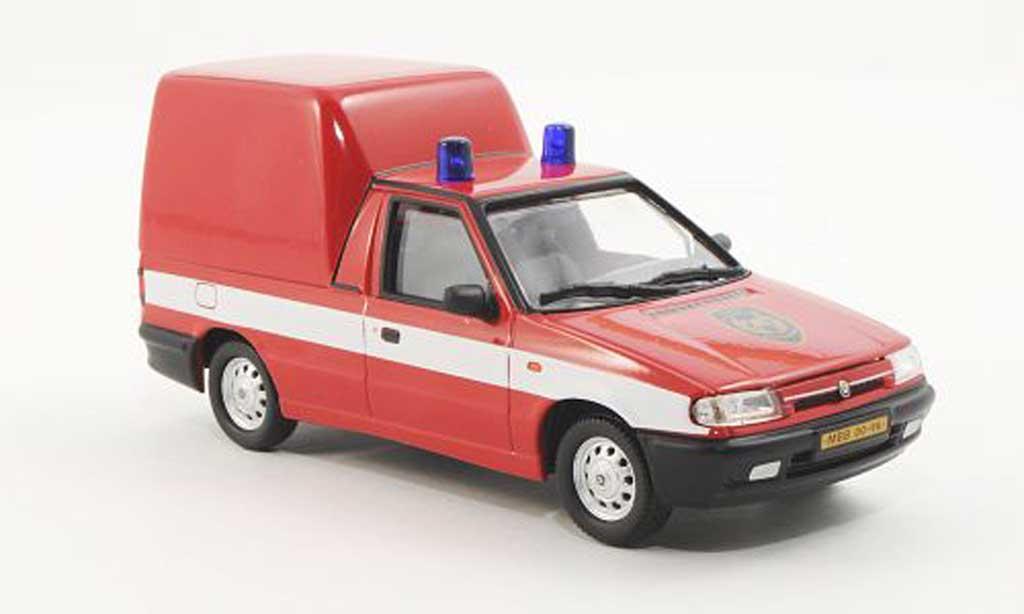 Skoda Felicia 1/43 Abrex Pick-Up Feuerwehr 1996 diecast model cars