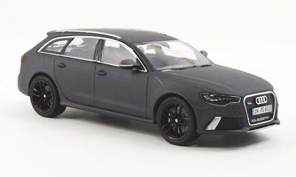 Audi RS6 1/43 Minichamps Avant (Typ C7) gray 2012 diecast