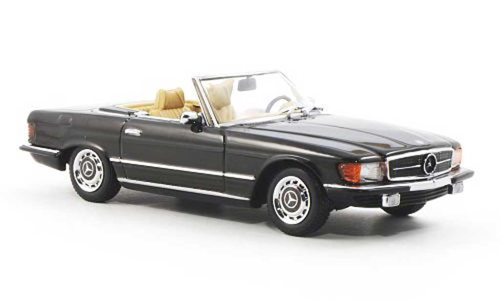 Mercedes 350 SL 1/43 Minichamps SL (R107) marron miniature