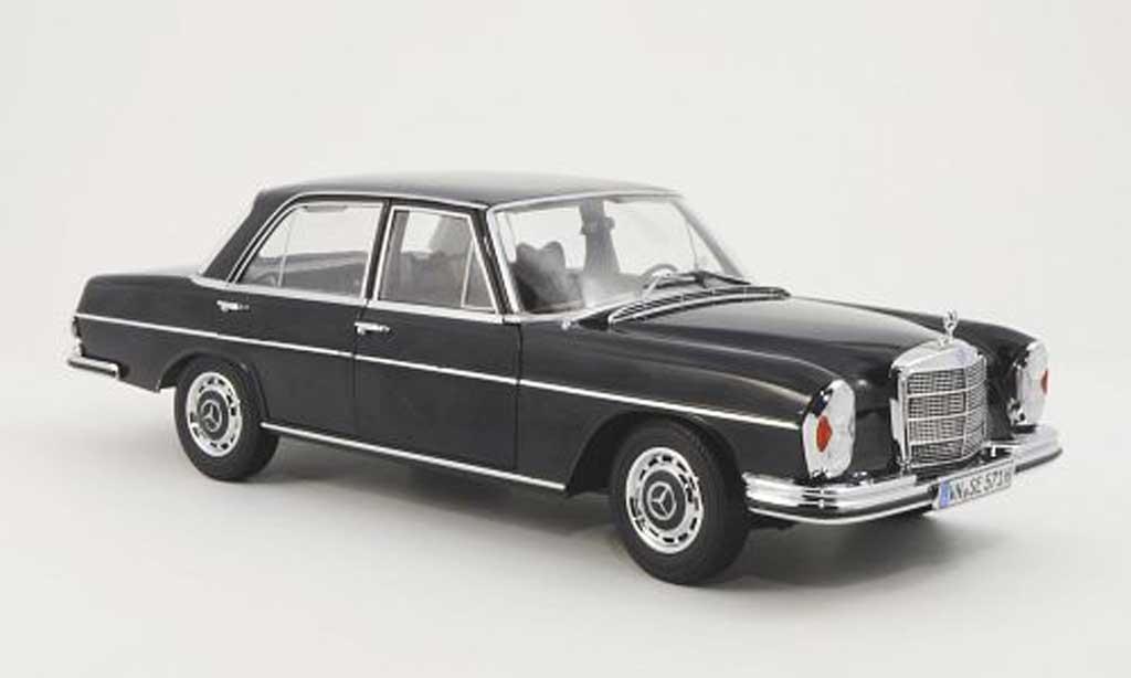 Mercedes 280 SE 1/18 Norev (W108) noire miniature