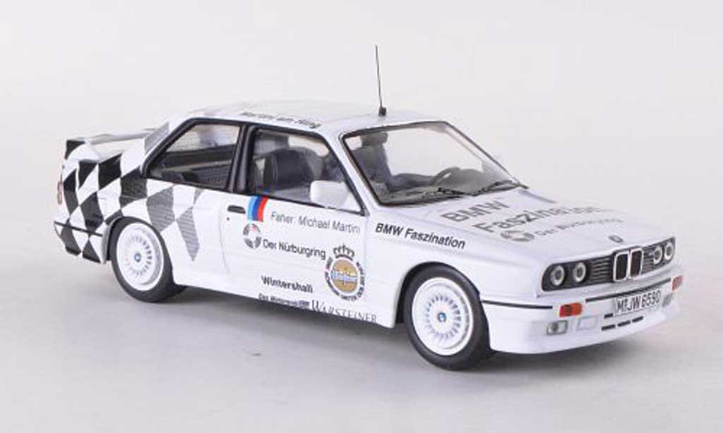 Bmw M3 E30 1/43 IXO Nurburgring Taxi 1990 M.Martini diecast model cars