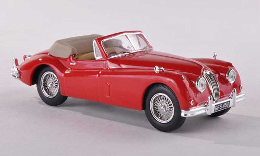 Jaguar XK 140 1/43 IXO Convertible red 1956 diecast model cars