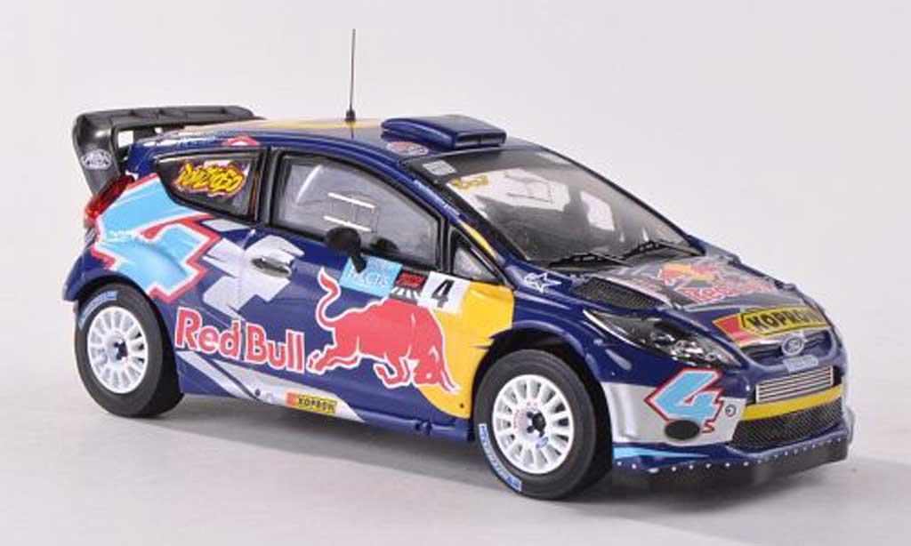 Ford Fiesta WRC 1/43 IXO No.4 Red Bull Bologna Motor Show 2011 A.Dovizioso diecast model cars