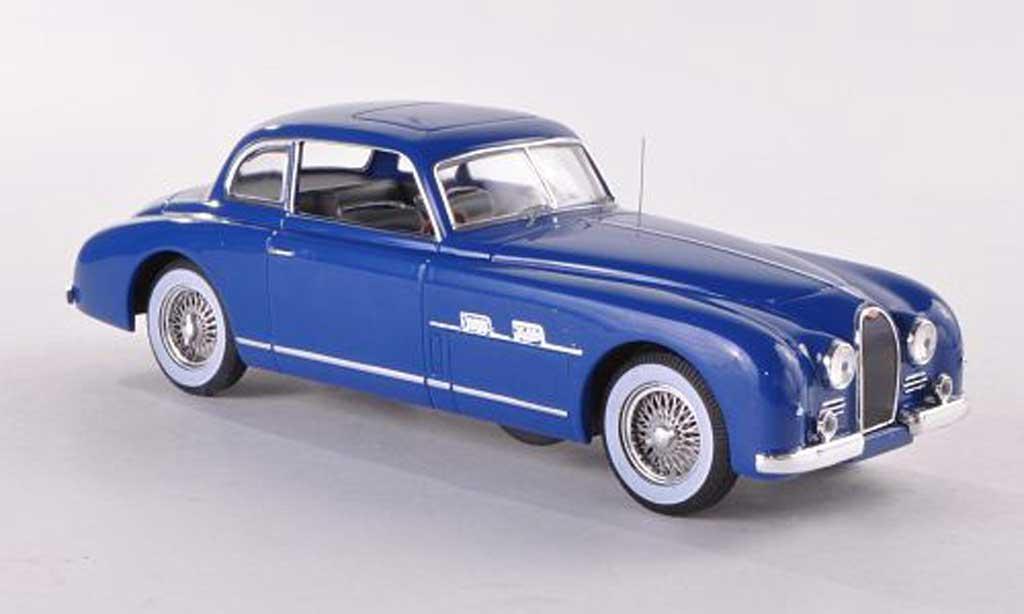 Bugatti Type 101 1/43 IXO (Chassis 57454) bleue 1951 miniature