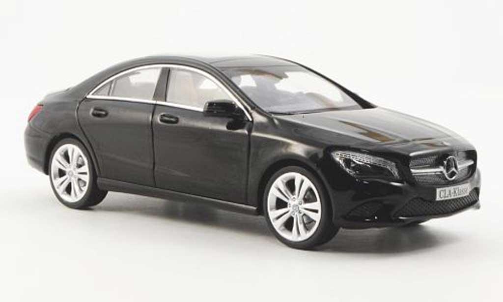 Mercedes CLA 1/43 Schuco (C117) black 2012 diecast
