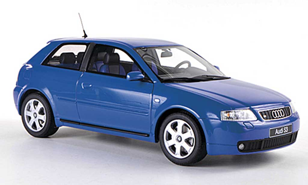 Audi S3 1/18 Ottomobile (MK2) bleue  miniature
