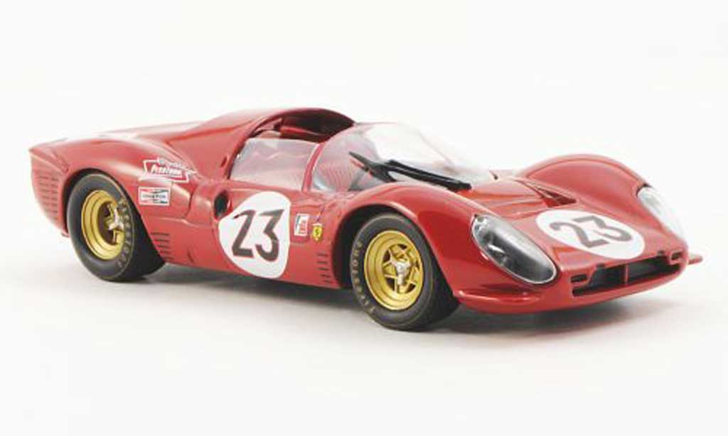 Ferrari 330 P4 1/43 Ferrari Racing Collection No.23 L.Bandini / C.Amon 24h Daytona 1967 miniature