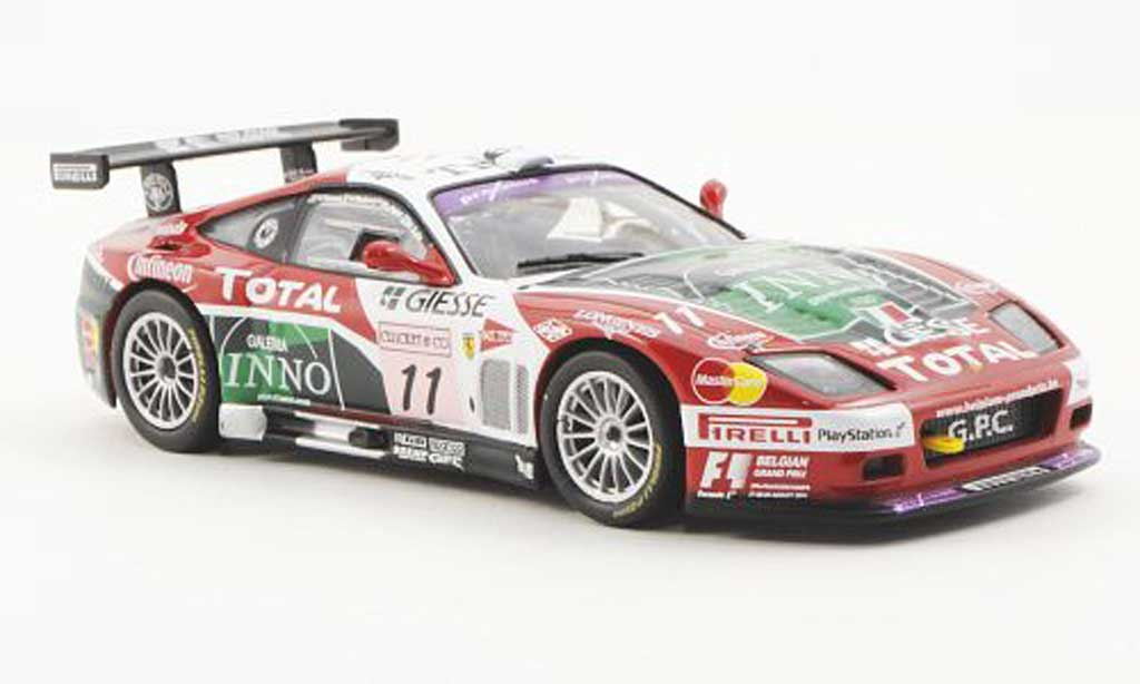 Ferrari 575 GTC 1/43 Ferrari Racing Collection No.11 M.Salo / Ph.Peter / F.Babini / V.Vosse 24h Spa-Francorchamps 2004 miniature