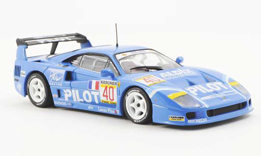 Ferrari F40 1/43 Ferrari Racing Collection Competizione No.40 Pilot M.Ferte / O.Thevenin 4h Anderstorp miniature