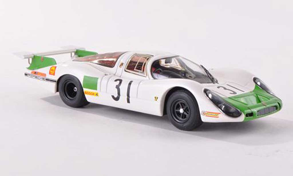 Porsche 908 1968 1/43 Schuco LH No.31 24h Le Mans J.Siffert/H.Herrmann