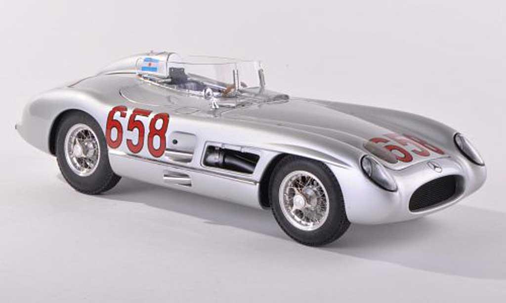Mercedes 300 SLR 1/43 CMC No.658 Mille Miglia 1955 J.M.Fangio miniature