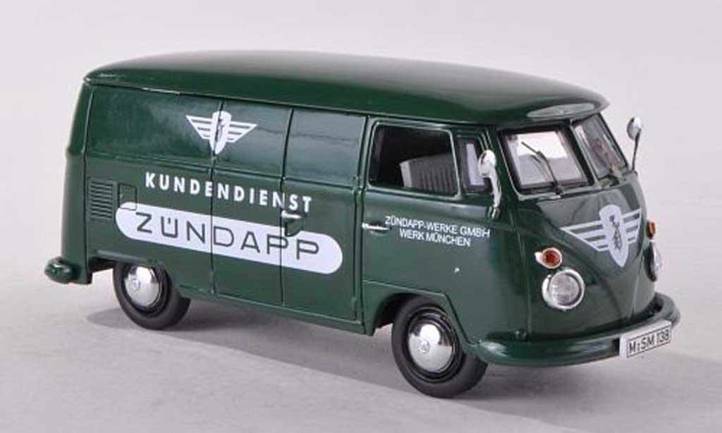 Volkswagen T1 1/43 Schuco kombiService clients Zundapp  diecast