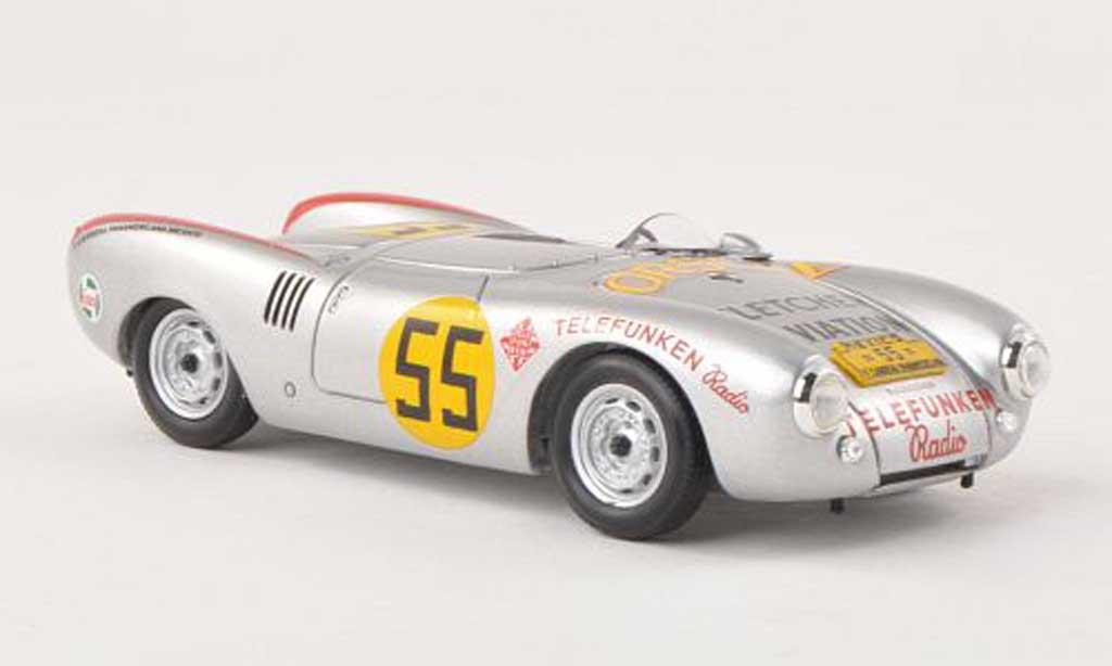 Porsche 550 1954 1/43 Schuco ProR Spyder No.55 Carrera Panamericana  H.Herrmann miniature