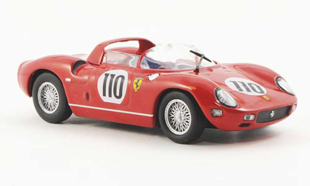 Ferrari 250 P 1963 1/43 Ferrari Racing Collection 1000 km Nurnburgring J.Surtees / W.Mairesse miniatura