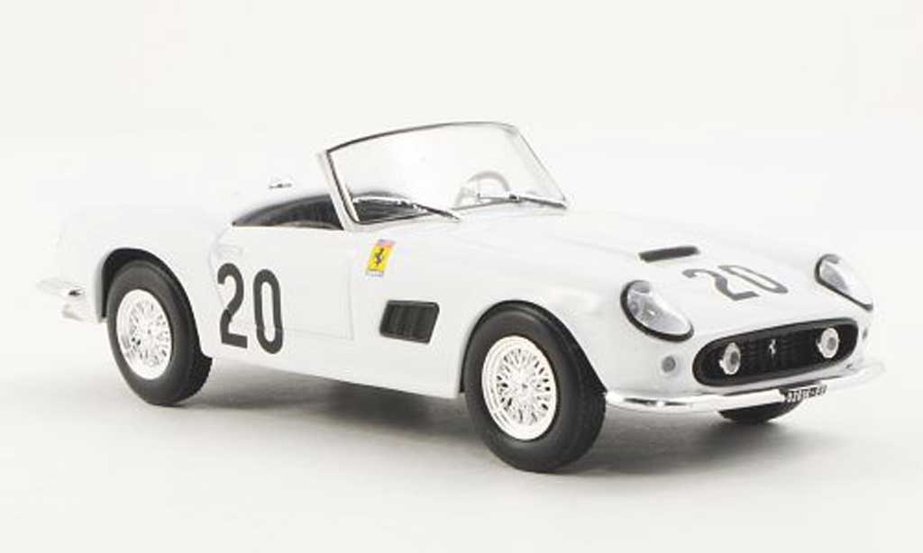 Ferrari 250 GT California 1/43 Ferrari Racing Collection 24h Spa W.Sturgis / J.Schlesser 1962 miniatura