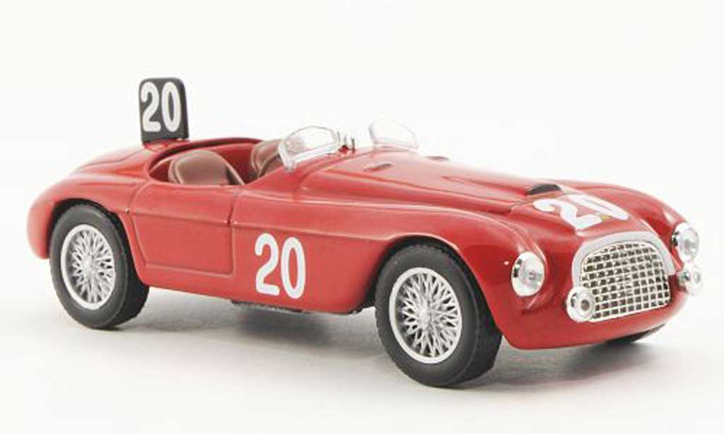Ferrari 166 1949 1/43 Ferrari Racing Collection MM 24h Spa L.Chinetti / J.Lucas miniature