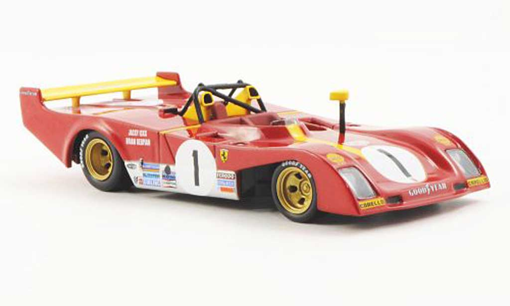 Ferrari 312 P 1/43 Ferrari Racing Collection 1000km Monza J.Ichx / B.Redman 1973 miniature