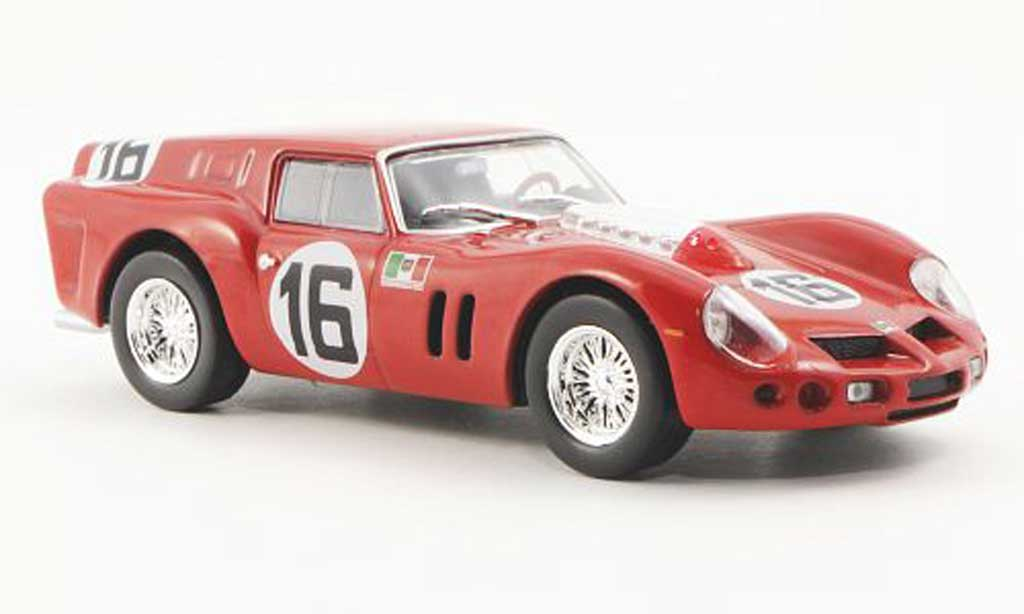 Ferrari 250 GT 1962 1/43 Ferrari Racing Collection Berlinetta p.c. Bresdvan 24h Le Mans C.M.Abate / C.Davis miniature